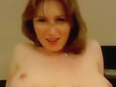 Busty bitch receiving a facial cumshot form her boyfriend