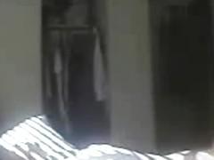 My mom. Masturbation in the morning. Hidden cam