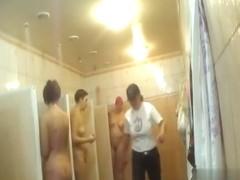 Hidden cameras in public pool showers 1044