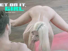 Jessie Volt in Get On It Scene