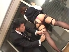 Japanese Flight Attendant