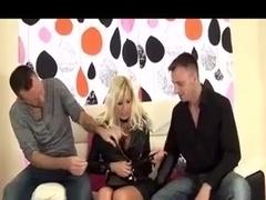 British Big Tits DP