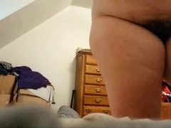 Unshaved Wife Changing-Hidden Camera