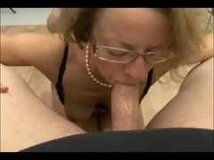 Old German slut gets fucked and facialized