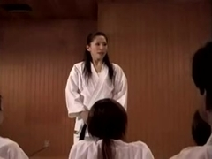 Japanese karate Teacher...