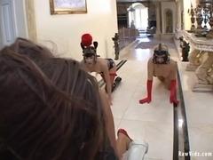 RawVidz Video: Raw BDSM Sex With Three Sluts