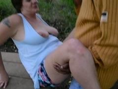 Granny dogging cuck cpl creampie finish part three