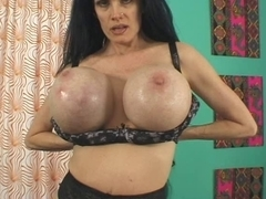 Sofia Staks older slut have broken wet crack and gigantic pantoons