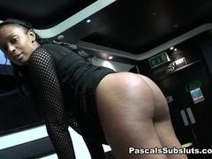Ebony Spank Addict, Lola-Marie - PascalSsubsluts