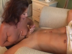 Stepmom & Stepson Affair 71 (stepMommys Trick - Fake)