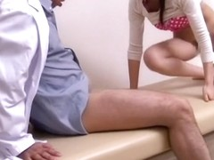 Doctor fingered his hot patient before fucking her