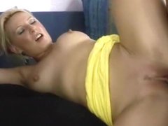 I'm enjoying a threesome in the amatur porn video