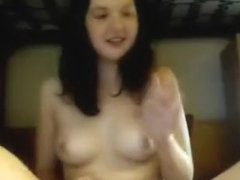 Young Babe Bating On Cam Sweet Girl!