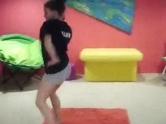 Incredible twerk livecam panty movie scene