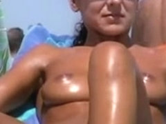 Bare Beach - One of the hottest vaginas ever