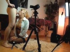 """Making of zum Video """"Nina hart in den Arsch gefickt"""""""