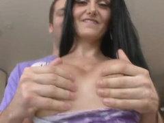 Sexy goddess Ava Addams has bouncy ass and gigantic titties
