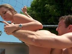 Tori Black enjoys a hot summer deep pussy fucking