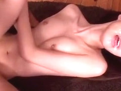 Horny Japanese model in Best Threesomes, Small Tits JAV movie