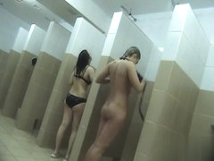 Hidden cameras in public pool showers 469