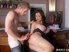 Big Tits at Work: Love at First Fuck. Aletta Ocean, Danny D