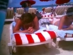One of the most good voyeur pleasures on Caribbean beach is to film sexy beauties
