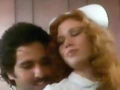 Red Head nurse Copper Penny & Ron Jeremy Vintage