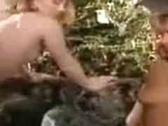 classic redhead threesome