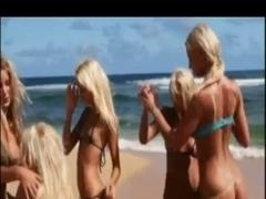 Lesbos Have Enjoyment On Beach BV