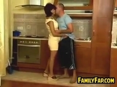 Pregnant Housewife And Her Step ###ther