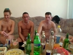 Hard anal sex at party