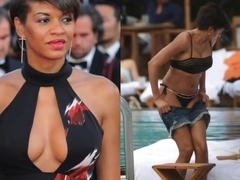 Georgette Eto's redcarpet TV and topless