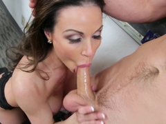 Horny pornstar Kendra Lust in Amazing Stockings, Redhead porn video