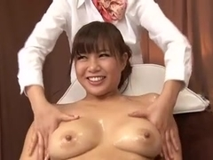 Lesbian and hardcore sex in a free Japanese porn video