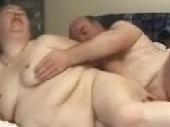 Ugly plump wife fucks with husband