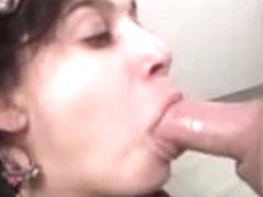 Non-Professional dark brown oral stimulation, face fuck & facial