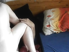My cunt fucked hard in porn video