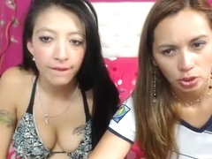 2slutty_schoolgirls secret clip on 06/17/15 22:41 from Chaturbate