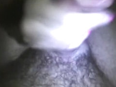In my lusty sextape non-professional, my sweetheart is engulfing my cock to make me willing for ar.