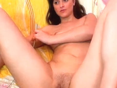 Amazing Amateur video with Shaved, Webcam scenes