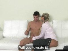 Czech agent pussyfucking audition amateur