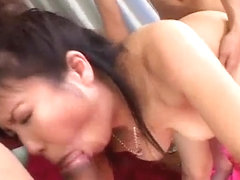 Marin Asaoka looks eager to try cocks in each of her ho