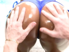 Huge Round Black Ass Gets Fucked Hard