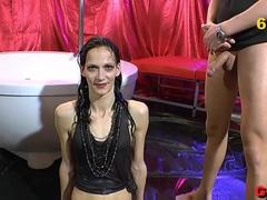Amazing pornstar in Best Bukkake, German adult scene