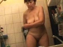 Mature Wife Drying Off on Hidden Cam - Voyeur