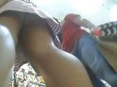 Underskirt voyeur videos of attractive women from the shop