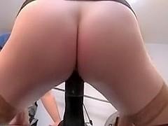 wife rides mr big