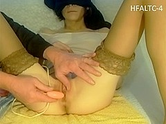 Sex toy made my pussy dripping wet