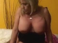 55yr old White Granny Wanda Likes to Engulf and Fuck BBC
