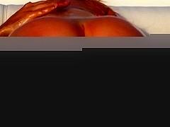 Big Wet Butts: Wet Butt Sex Red Latex. Nikki Benz, Keiran Lee